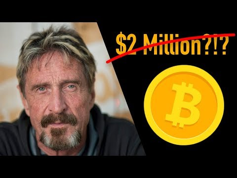John McAfee Rejects $2M Bitcoin Prediction