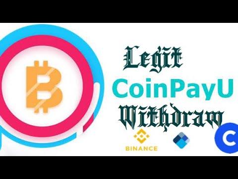 Bitcoin Withdraw | Coinpayu.com Legit Or Scam