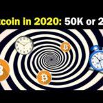 Bitcoin in 2020: 50K, 100K or 2K?