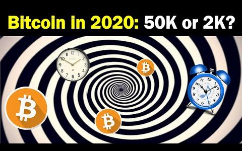 Bitcoin in 2020: 50K, 100K or 2K?