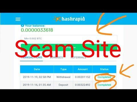 Hashrapid.io Scam Site Bangla tutorial and Bitcoin Eran (99Bitcoin.).