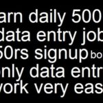 Online Typing and Data Entry Jobs for Pakistanis.earn money just data entry on pakeasyjob.