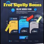 New Free BitCoin Mining Site Free SignUp Bounes