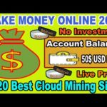 New Bitcoin Mining Website 2020 | Watch Ads Earn 50$ Daily | Live Proof