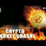 BITCOIN CRASH 🔥🔥 Live BTC USD Crypto Trading Price Analysis TA Cryptocurrency Price News