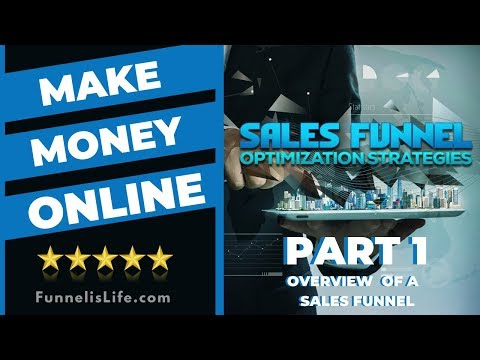 Sales Funnel for Beginners: Create a Sales Funnel to Make Money Online - Part 1