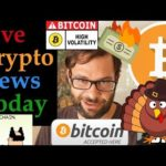 🔴 Happy Thanksgiving Pre-Game Special Live Stream! 🚀☕💲 #Bitcoin News + More #CryptoNews