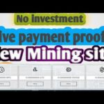 PAYMENT PROOF OMG😱 New Free Bitcoin Mining Site 100GH/S Free+Zero Investment