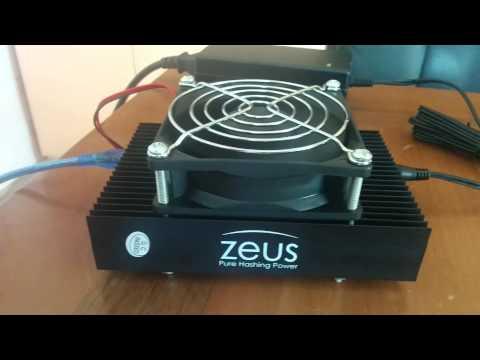 Zeus Miner Blizzard 1.4Mh/s Test