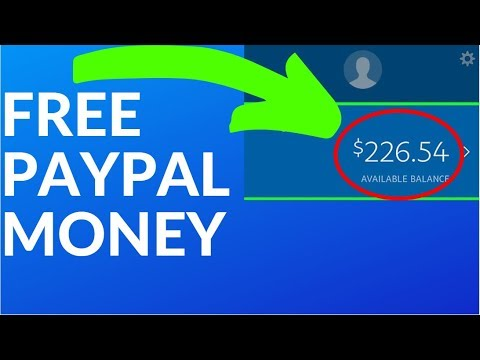 Earn FREE PayPal Money Fast! (Make Money Online)