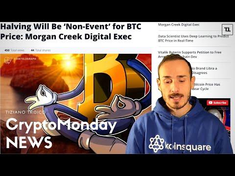 L'Halving di BITCOIN potrebbe rivelarsi un NON Evento! - CryptoMonday NEWS w49/'19