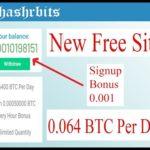 New Free Bitcoin Mining Site : Signup Bonus 0.001 BTC : Hashrabits