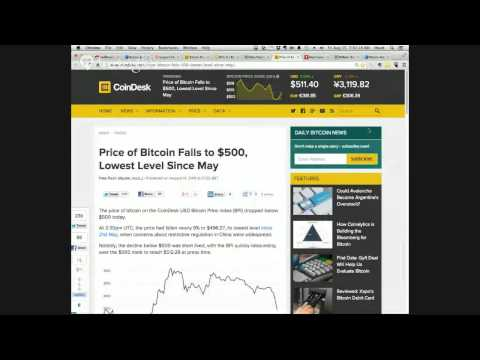 MadBitcoins Live: Bitcoin $500, Ebay Payments? (uber, airbnb), Dish goes live