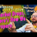Breaking Bitcoin Market Update - If the market tanks this is how we've prepared.  Live trading!