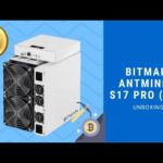 Bitmain Antminer S17 Pro 56T | Bitcoin Mining | Coin Mining Central Unboxing