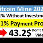 Bitcoin Mining Maronev Site 2020|Without Investment|Crypto World Tips
