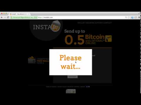 How To: Buy Bitcoin instantly using your debit card in Canada – Interac Online – InstaBT Overview