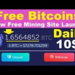 WOW😱 2020-No Investment Launched New Free Bitcoin Mining Site   Earn Every Day Free Bitcoins