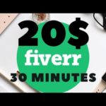 How To Make Money Online / 20$ in 30 minutes from Fiverr / Data Entry Jobs Work From Home