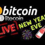 🌟 BITCOIN LITECOIN NEW YEARS EVE LIVE🌟bitcoin price prediction, analysis, news, trading