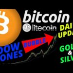 🌟 BITCOIN, LITCOIN, GOLD, SILVER, DOW JONES🌟btc ltc price prediction, analysis, news, trading