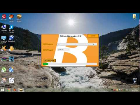 BITCOIN GENERATOR 2015 100% WORKING