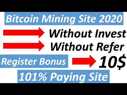 bitcoin mining hashrbits site 2020 bonus 10$ crypto world tips