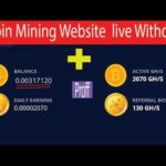 Bitcoin Mining with live withdraw 😱0.003 😱 || 2020
