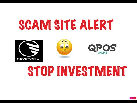 SCAM SITE ALERT / STOP INVESTMENT / CRYPTOMX/BITCOIN FREE/ QPOS MINING SITE /