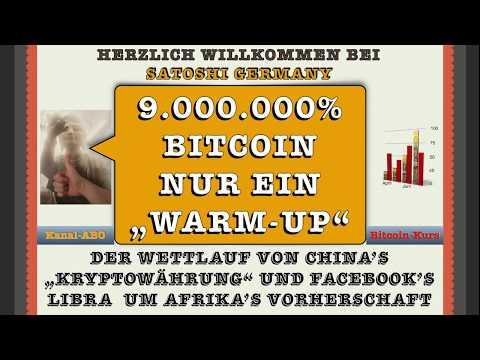 """9 Million % für BITCOIN nur ein """"WARM-Up"""" Wird """"Fatal Flaw"""" Bitcoin ZERSTÖREN"""