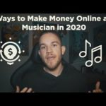 5 Ways to Make Money Online as a Musician in 2020