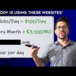 6 Websites To Make Money Online In 2020 ($200 A DAY!)