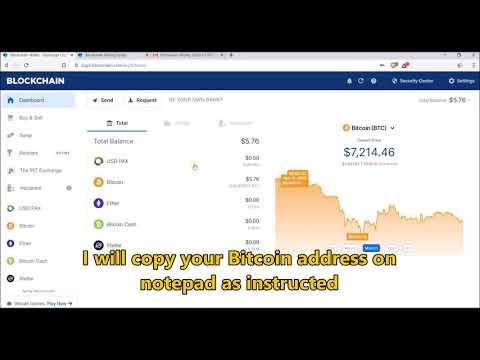 Bitcoin Hack 30 BTC   Free Bitcoin Mining   Blockchain Script Hack Giveaway
