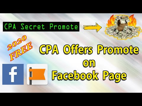 How to Promote CPA Offer on Facebook Page | Make Money Online By Cpa Marketing