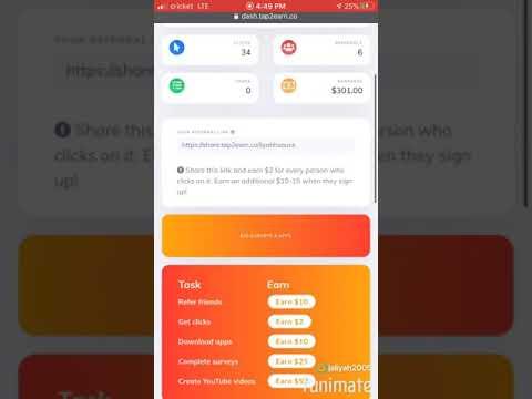Tap 2 Earn LEGIT! Make Money Online Using Social Media   share.tap2earn.co/liyahhsauce