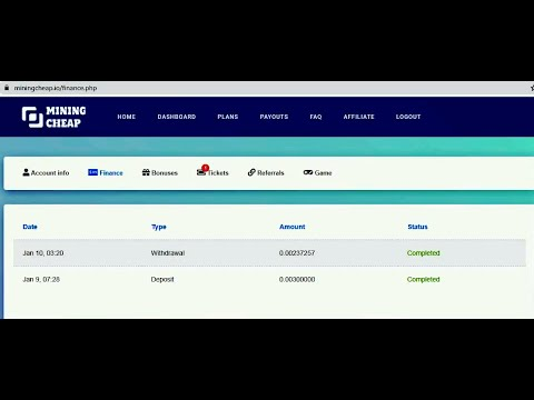Miningcheap io Scam OR Paying Review 0.00237257 Bitcoin  live Withdraw Proof 2020!