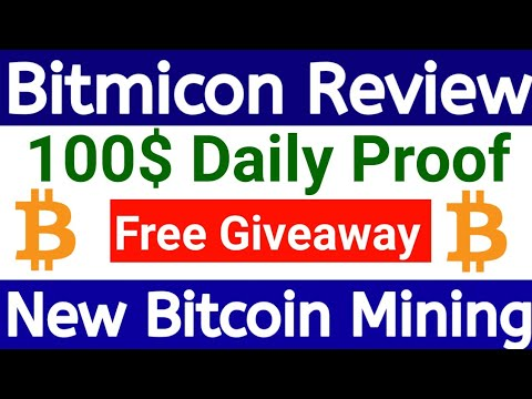 OMG  100$ Proof New Bitcoin Mining Site 2020 Legit Bitcoin Investment Site +Free Giveaway Urdu/Hindi