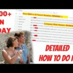 HOW TO MAKE MONEY ONLINE FAST & EASY FOR BEGINNERS (GET PAID DAILY & INSTANTLY)