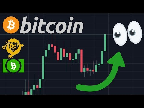 HUGE BITCOIN BREAKOUT!! VERY SOON? | Bitcoin Cash & Bitcoin SV Are SCAMS!