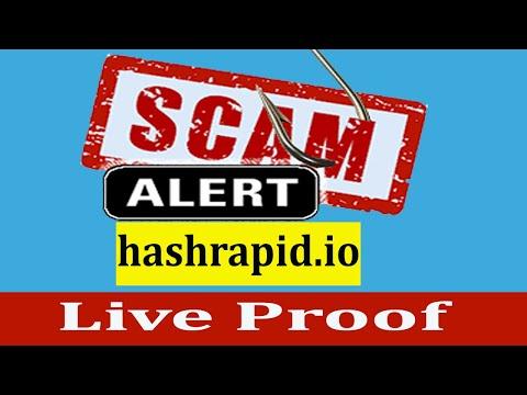 hashrapid io Scam   New Free Bitcoin Cloud Mining Site 2020   Live Proof