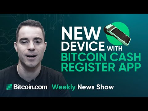 Merchant Device with BCH Register App, Miami Blockchain Week, 60% of Booking is Crypto on Travala