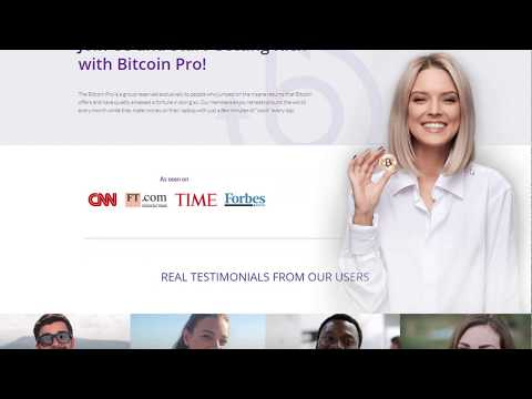 Bitcoin Pro SCAM or LEGIT? Watch this Bitcoin Pro Review 2020 to Find out now! Live DEPOSIT