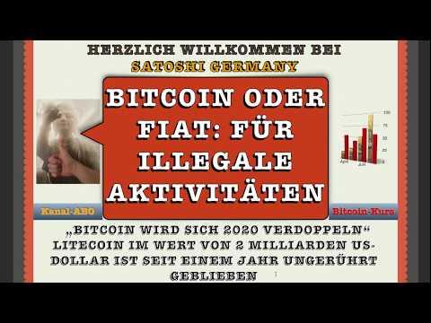 """""""Bitcoin, XRP oder Fiat"""" Der KÖNIG für illegale Aktivitäten ! """"Kryptowärung News"""""""