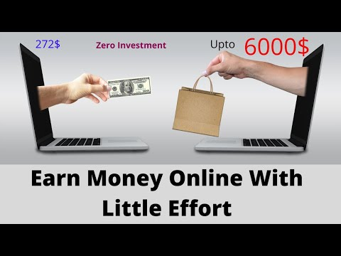 Make Money Online At Home 272$ upto 6000$ (In Few Minutes)