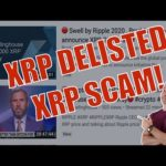 BREAKING! XRP De-Listed! Scams Are ALL OVER STILL! Brave Browser and APPLE?!?