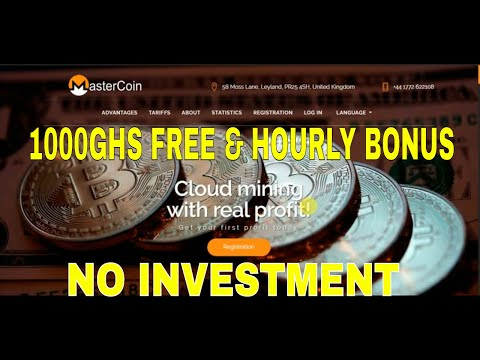 NEW BITCOIN MINING 1000GHS FREE POWER&HOURLY BONUS COLLECT||EASY & SIMPLE ONLINE JOB|| NO INVESTMENT