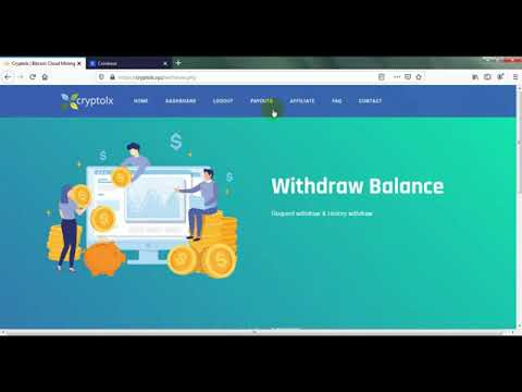 Cryptolx   New Bitcoin Mining Site   Earn Daily 0 002 BTC   Make Money Online1