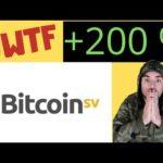 """Bitcoin SV über 200% - Wird es nun eng für BITCOIN?! Oder wieder nur Heiße Luft von """"Faketoshi""""?!"""
