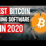 Bitcoin Mining Software For PC 2020 🔥 BEST Bitcoin Miner 🔥