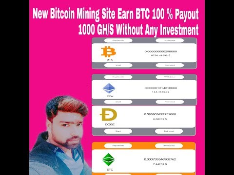 Free New Bitcoin Mining Site Sign-up Bonus 1000 GH/S Without any Investment